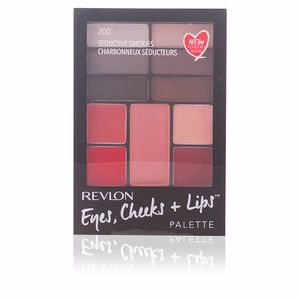 Revlon Make Up PALETTE eyes, cheeks + lips #200-seductive smokies