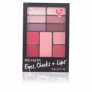 Revlon Make Up PALETTE eyes, cheeks + lips #300-berry in love