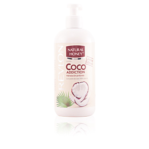 Natural Honey COCO ADDICTION loción corporal dispenser 400 ml