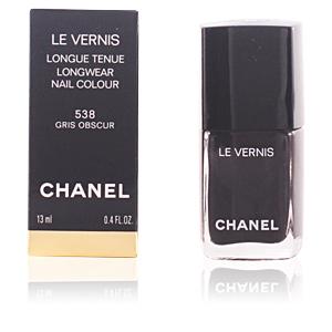 Chanel LE VERNIS #538-tenue gris obscur