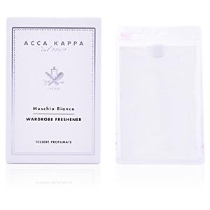 Acca Kappa WHITE MOSS home wardrobe fresheners set