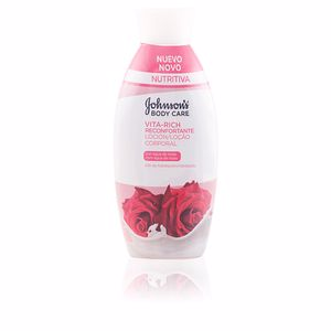 Johnson's VITA-RICH RECONFORTANTE ROSAS loción corporal 400 ml