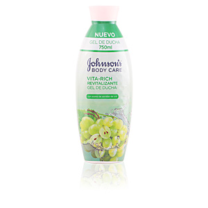 Johnson's VITA-RICH REVITALIZANTE UVAS shower gel 750 ml