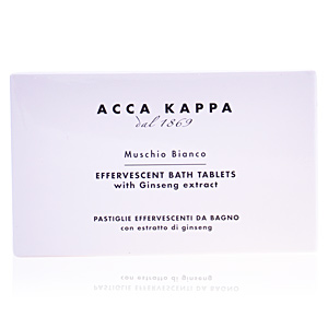 Acca Kappa WHITE MOSS effervescent bath tablets