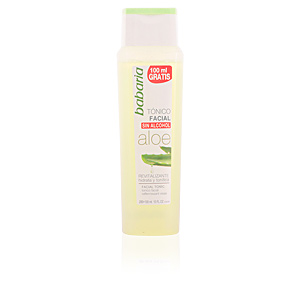 Babaria ALOE VERA tonico facial sin alcohol 300 ml