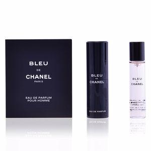 Chanel BLEU eau de parfum refillable travel spray 3 x 20 ml