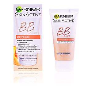 Garnier SKINACTIVE BB CREAM efecto nude SPF20 #medium
