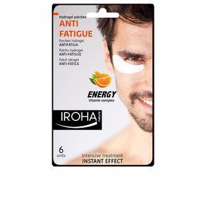 Iroha MEN EYE hydrogel patches anti-fatigue vit complex 6 pcs