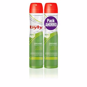 Byly ORGANIC EXTRA FRESH deodorant spray set