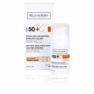 CC CREAM anti-manchas tono medio SPF50+