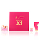 ESPECIALLY ESCADA SET 3 pz